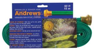 Andrews Two Tube Sprinkler Hose Green 6ea/50 ft