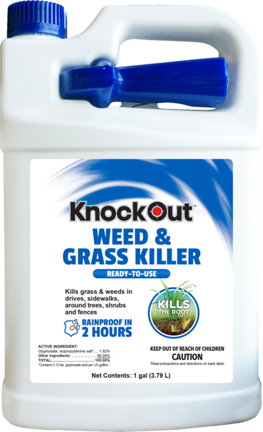 Knockout Weed & Grass Killer Ready To Use 4ea/1 gal