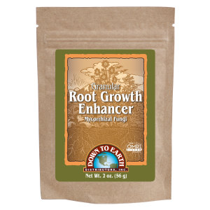Down To Earth Root Growth Enhancer Mycorrhizal Fungi Granules OMRI 24ea/2 oz