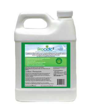 Procidic 2 Fungicide and Bactericide Compound Medical Cert Concentrate 12ea/32 fl oz
