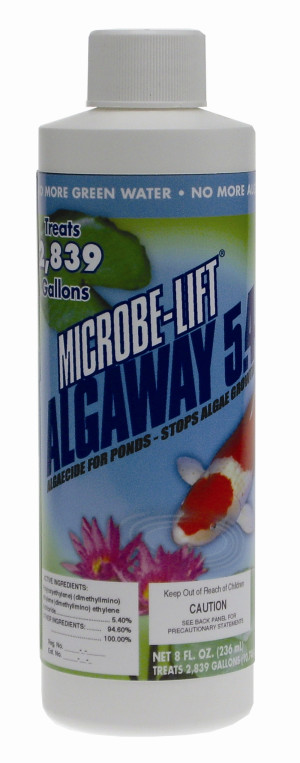 Ecological Laboratories Microbe-Lift AlgAway 5.4 Algaecide for Ponds 12ea/8 oz