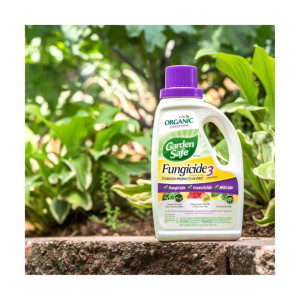 Garden Safe Fungicide3 Insecticide Miticide Concentrate Organic 6ea/20 fl oz
