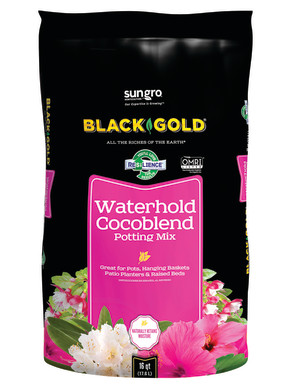 Black Gold Waterhold Cocoblend Potting Soil Organic 1ea/16 qt