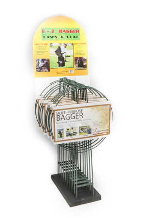 DeVault EZ Bagger Lawn & Leaf Holder Green 10ea