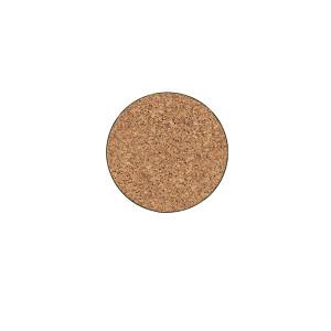 Curtis Wagner Plastics Cork Plant Mat Brown 25ea/6 in