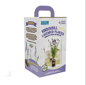 Back to the Roots Windowsill Planter Organic Lavender 1ea