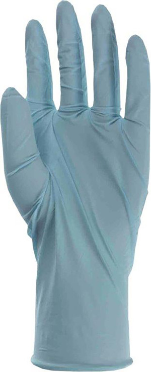 Boss Nitrile Disposable Glove Blue 1ea/10 pk