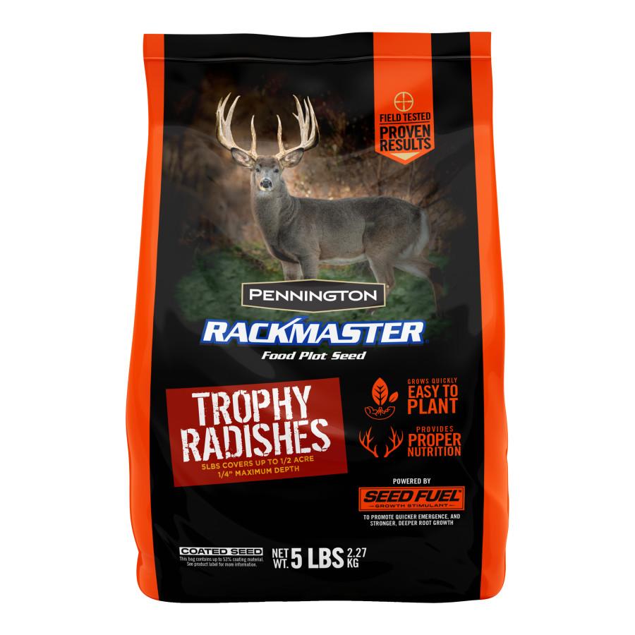 Pennington Rackmaster Trophy Radishes Food Plot Seed Mix 6ea/5 lb