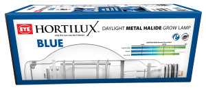 Hortilux Blue Daylight Metal Halide Grow Lamp 6ea/600 W