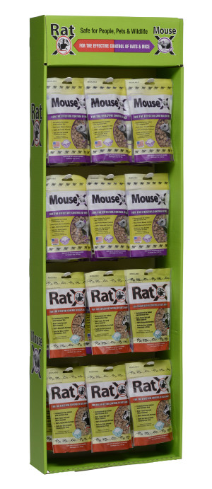 RatX & MouseX Mixed Display 1ea/36 ct Powerwing