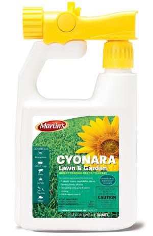 Control Solutions Cyonara Lawn & Garden Insecticide Ready to Spray 12ea/32 fl oz