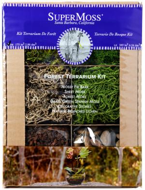 Supermoss Terrarium Kit Forest 1ea/4 oz