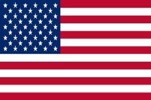 Flag Zone Nylon United States Flag in Poly Bag 12ea/3Ftx5 ft