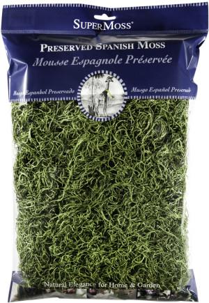 Supermoss Spanish Moss Preserved Grass 10ea/8 oz