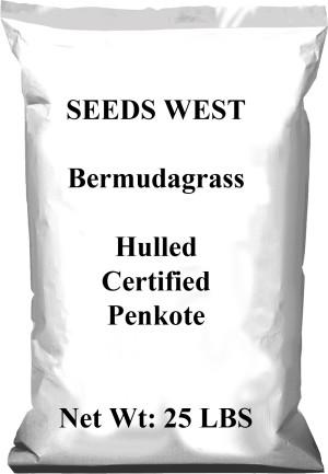 Pennington Bermuda Grass Seed Hulled Penkoted 1ea/50 lb