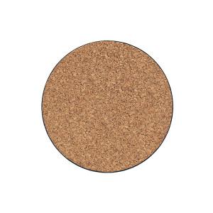 Curtis Wagner Plastics Cork Plant Mat Brown 15ea/10 in