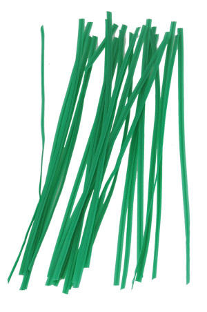 Bond Twist Ties 100 Pieces Green 24ea/8 in
