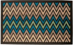 Robert Allen Doormat Chevron 5ea/18Inx30 in