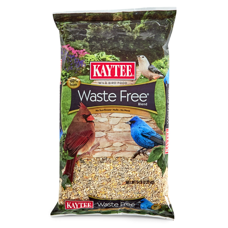 Kaytee Waste Free Blend Wild Bird Food 8ea/5 lb