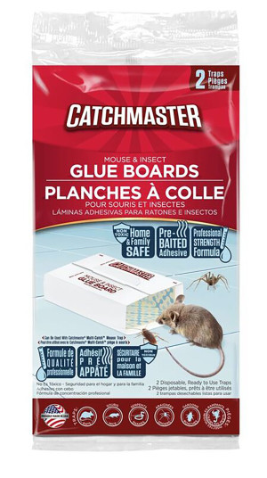 Catchmaster Mouse & Insect Glue Boards Pre-Baited 36ea/2 pk