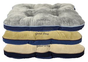 DMC Tufted Gusset Pet Bed Assorted Display 10ea/30In X 40 in