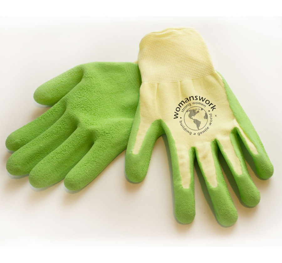 Womanswork Weeding Glove Green 6ea/Large