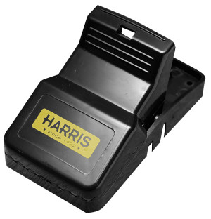 Harris Plastic Rat Trap Reusable Black 12ea/Single pk