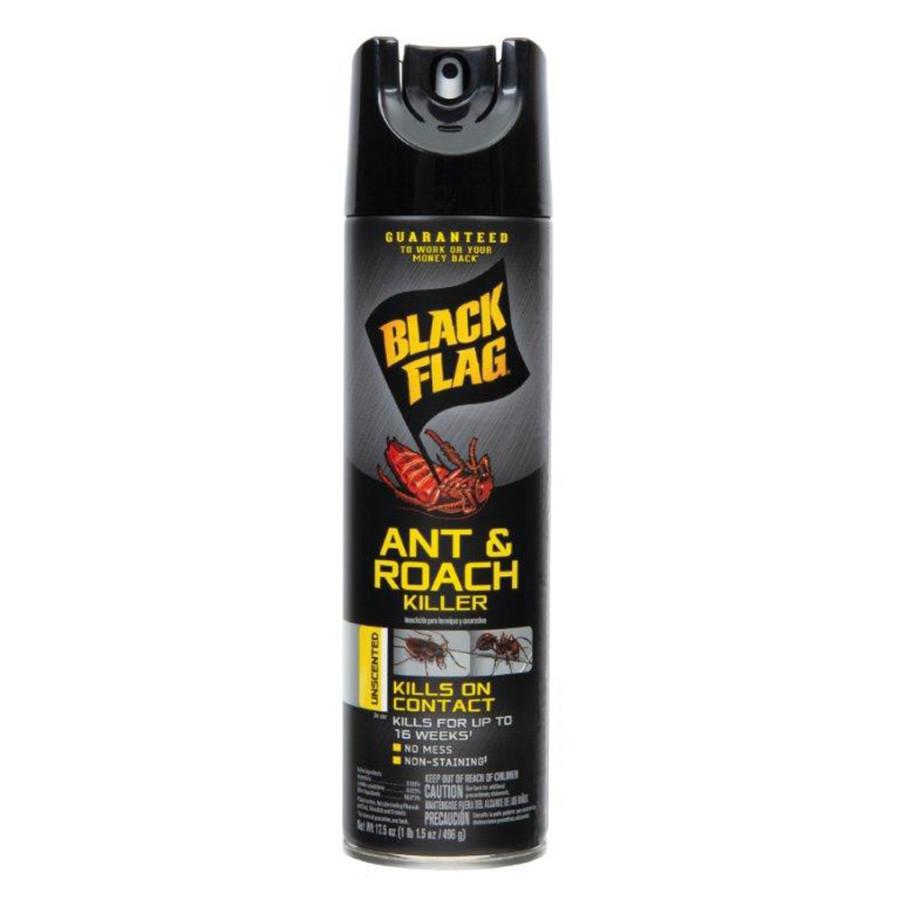 Black Flag Ant & Roach Killer Aerosol Unscented 12ea/17.5 oz