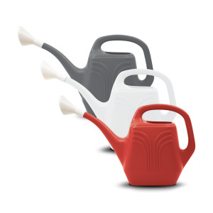 Bloem Classic Watering Can Casper White, Burnt Red, Charcoal 12ea/2 gal