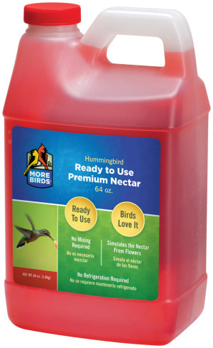 Classic Brands More Birds® Hummingbird Nectar Ready To Use Red 4ea/64 fl oz