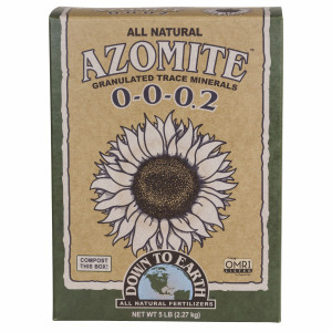 Down To Earth Azomite Granulated Natural 0-0-0.2 Granulated 6ea/5 lb