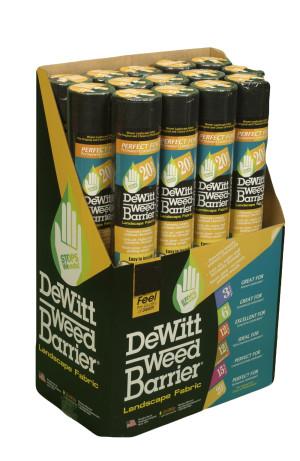 DeWitt 20-Year Weed-Barrier Landscape Fabric Black 7ea/3Ftx100 ft