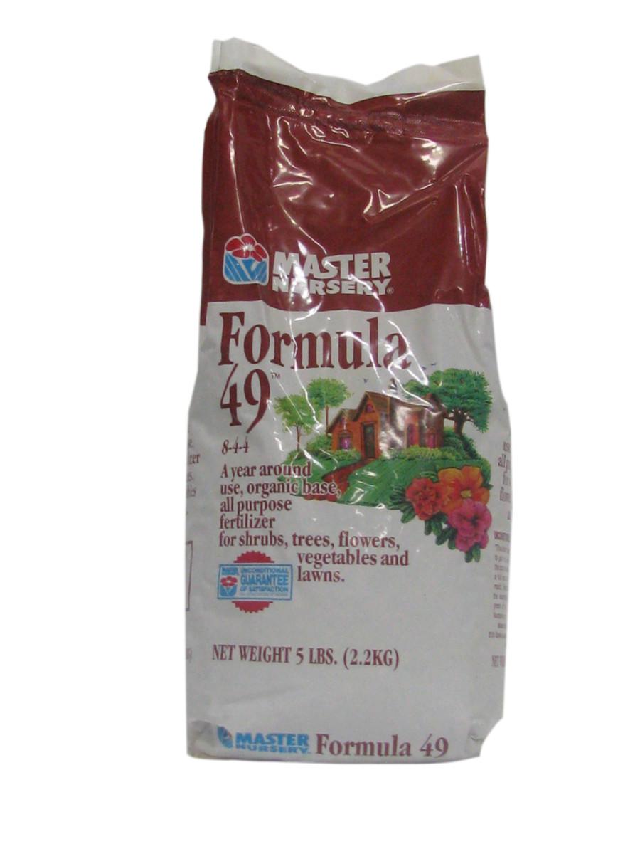 Master Nursery Formula 49 All Purpose Fertilizer Organic Granules 8-4-4