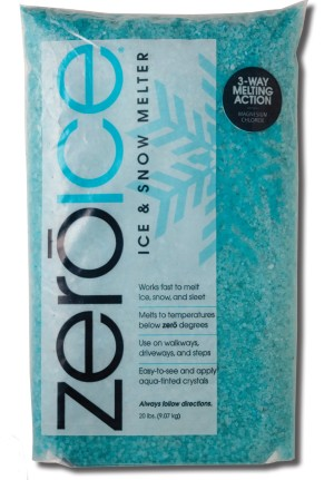Howard Johnson Zero Ice & Snow Melter Bag 120ea/20 lb