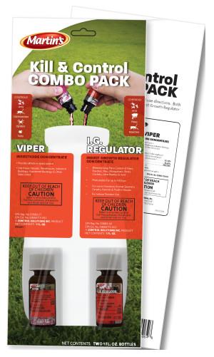 Control Solutions Viper & I.G. Regulator Kill & Control Combo 12ea/2 pk