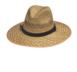 Goldcoast Sunwear Rush Safari Hat Natural 6ea/One Size