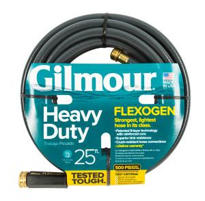 Gilmour Flexogen Premium Hose Heavy Duty Grey 6ea/1/2Inx25 ft
