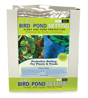 DeWitt Bird & Pond Netting Black 11ea/14Ftx14 ft
