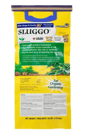Monterey Sluggo® Slug & Snail Killer Bait Organic 1ea/10 lb