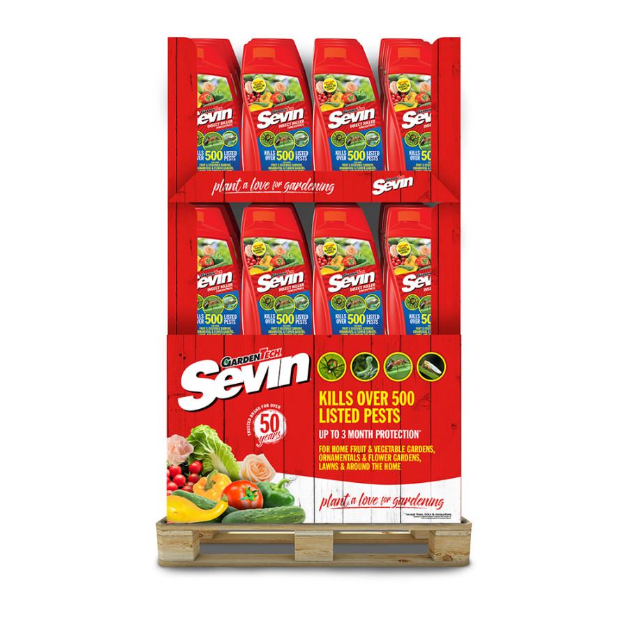 Sevin Insect Killer Concentrate Quarter Pallet 48ea/32 oz