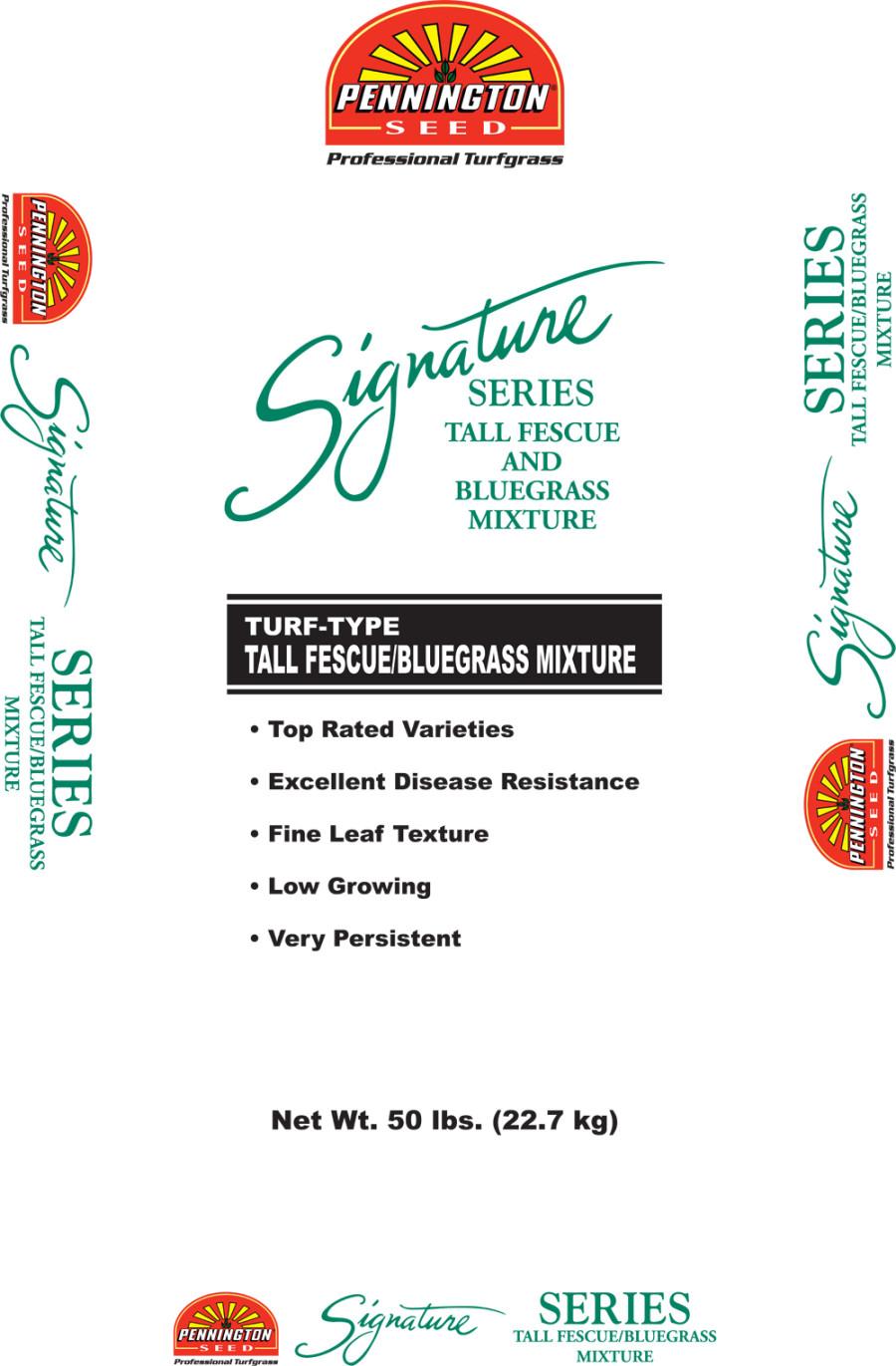 Pennington Signature Series Tall Fescue & Bluegrass Mixture 1ea/50 lb