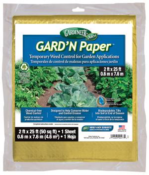 Dalen Gardeneer GARD'N Paper Weed Control 15ea/2Ftx25 ft