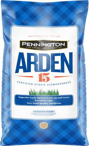 Pennington Bermuda Arden 15 Unhulled Certified Penkoted 1ea/25 lb