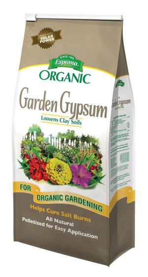 Espoma Organic Garden Gypsum Loosens Clay Soils 1ea/36 lb