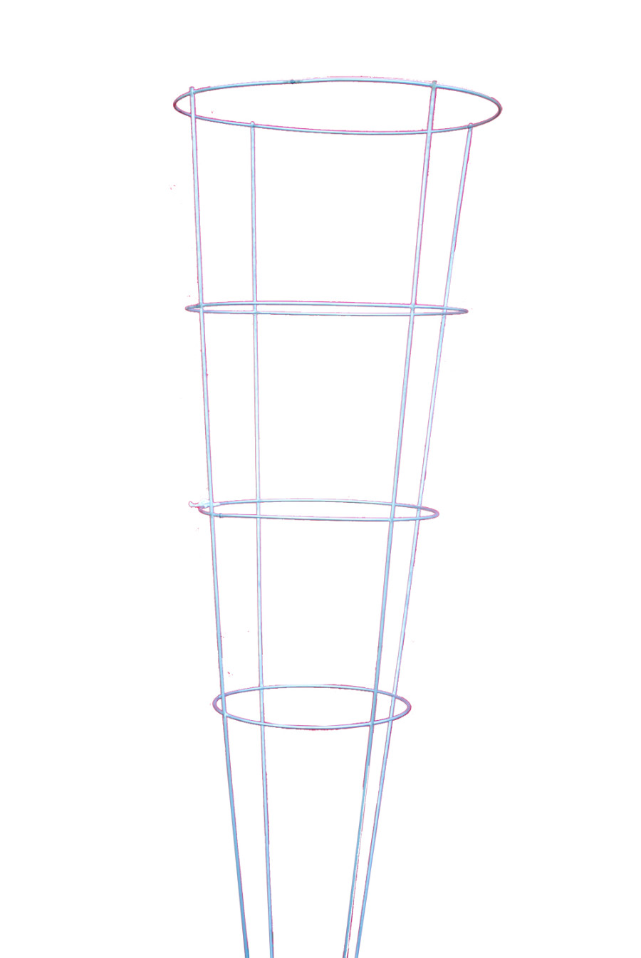 Midwest Wire Works Tomato Cage 4-Leg 4-Ring Heavy-Duty