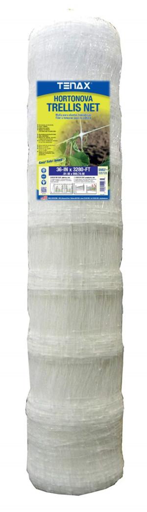 Tenax Hortonova Trellis Net White 1ea/36Inx3280 ft