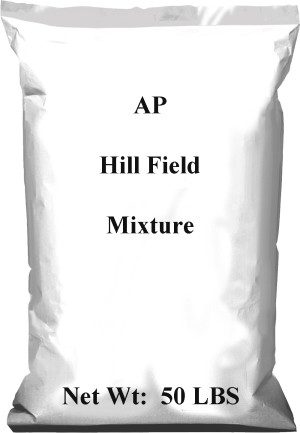 Pennington AP Hill Field Mixture 1ea/50 lb