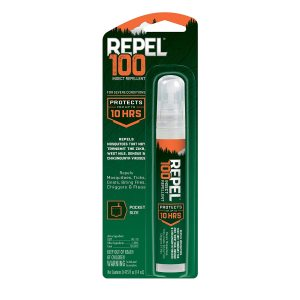 Repel 100% Deet Insect lent Pen Size Pump Spray 6ea