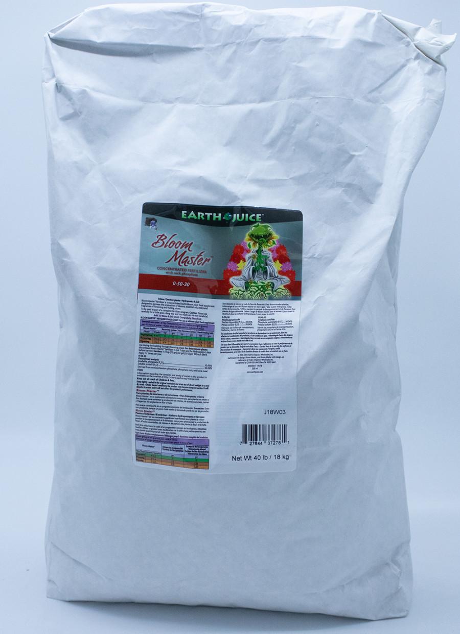 Earth Juice Bloom Master 0-50-30 Concentrated Fertilizer 1ea/40 lb