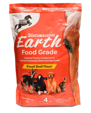 Harris Happy Horse Diatomaceous Earth Food Grade 8ea/4 lb